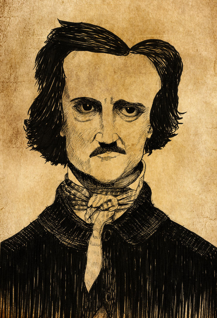 Edgar Allen Poe by Art-Lab-03