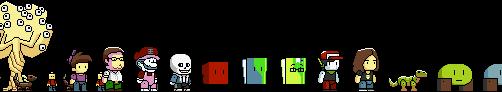 Scribblenauts thingies by JumboDS64