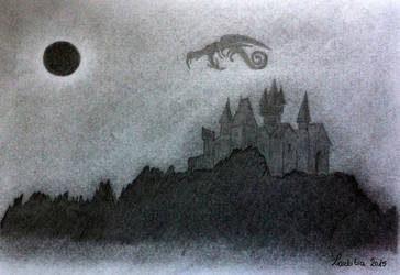 My Mother Moon by LaetitiaEvalia