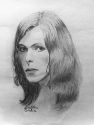 David Bowie by LaetitiaEvalia