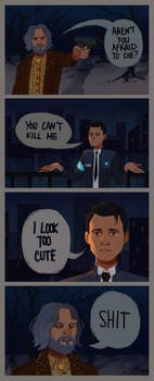 connor and hank comic #2