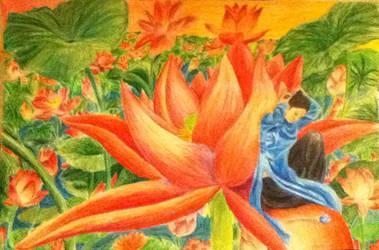 Blue Lotus Girl
