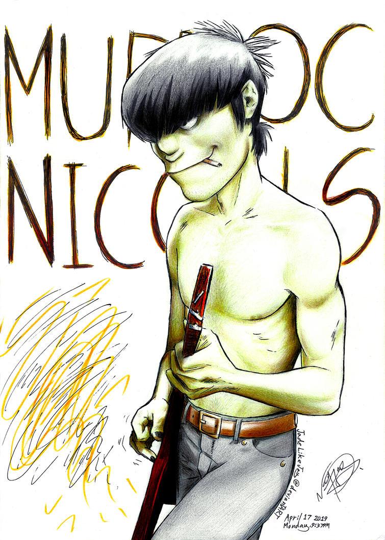 MURDOC NICCALS plukpluk by JadeLikeJay