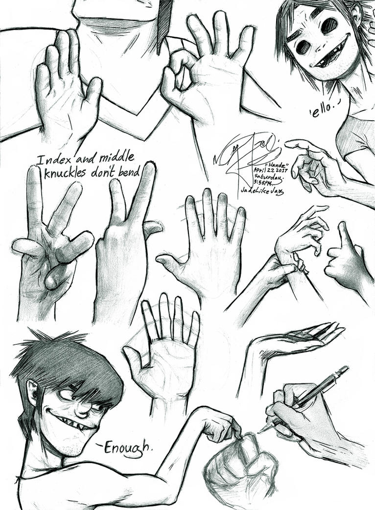 HANDZ and other tomfoolery by JadeLikeJay
