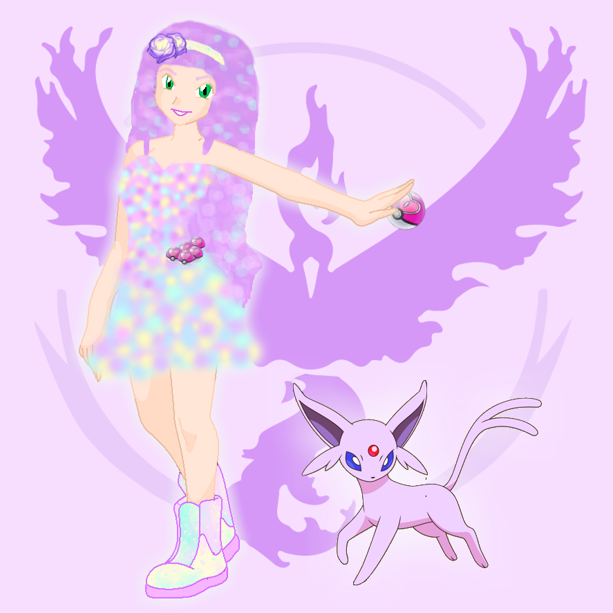 Fairy Kei Pokemon Trainer DarcRose22 by DarcRose22