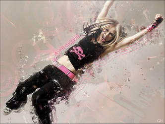 Avril Lavigne Wallpaper by renatavianna