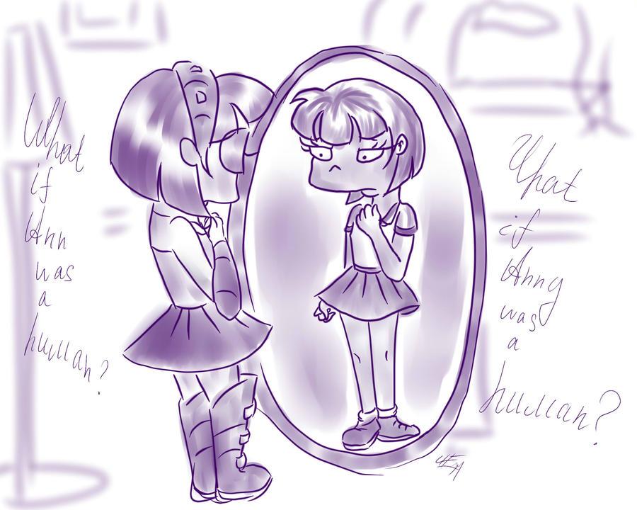 Mirror, mirror... by LeenaKill