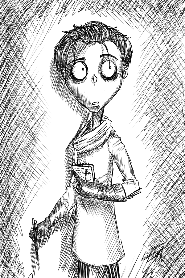 Frankenweenie Adult Victor By Leenakill On Deviantart