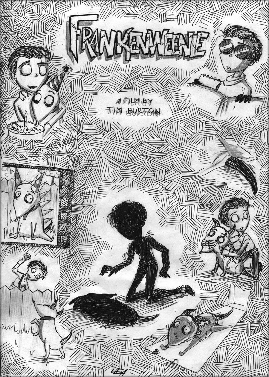 Frankenweenie Poster By Leenakill On Deviantart