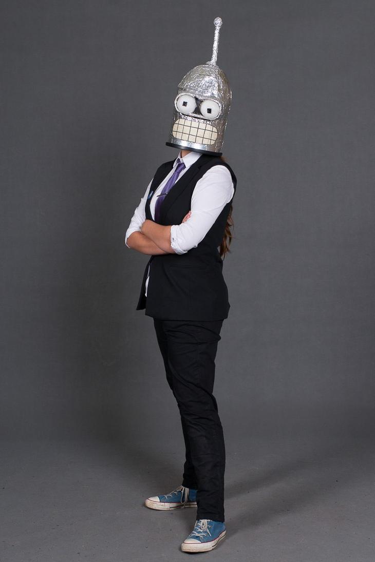 Bender cosplay by LeenaKill