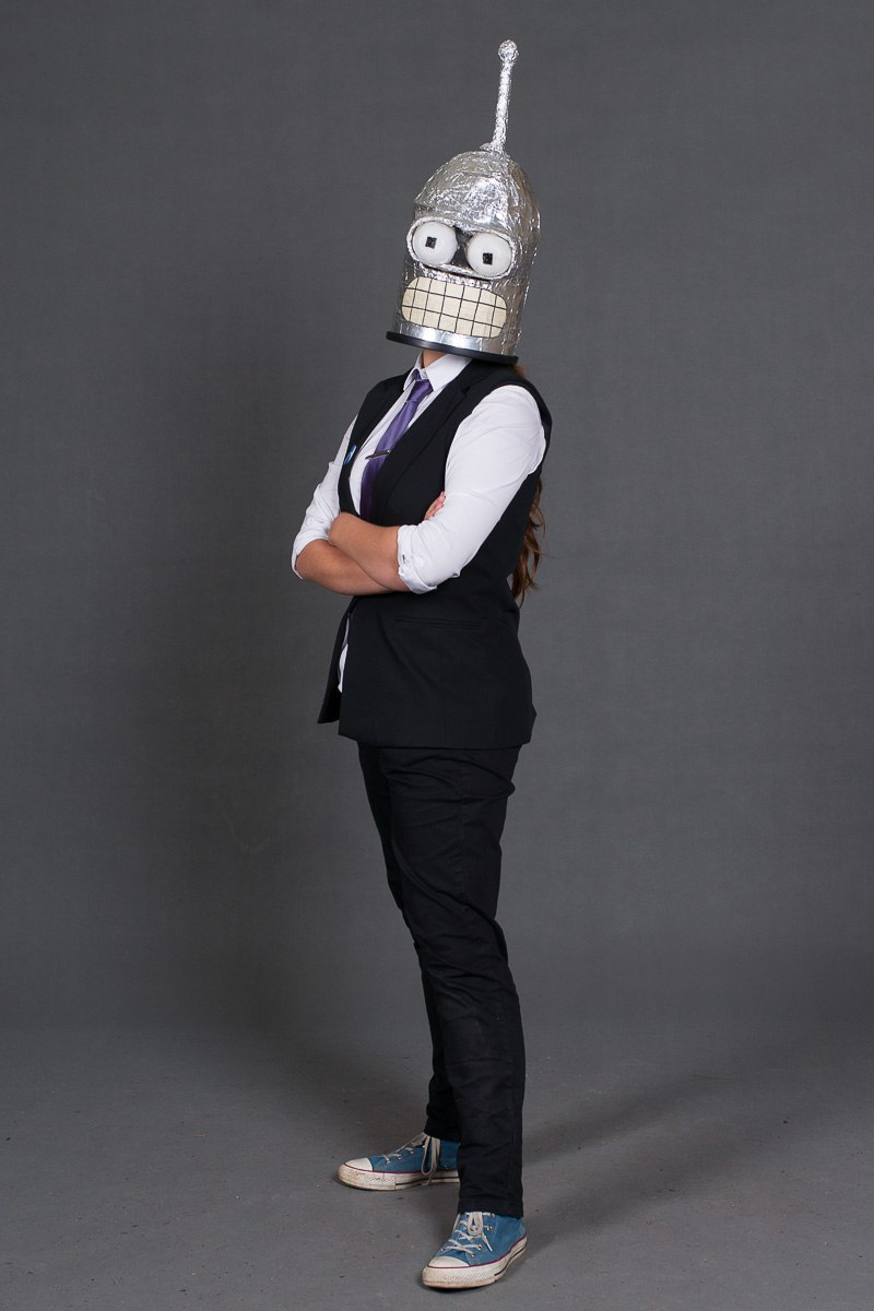 Bender cosplay by LeenaKill