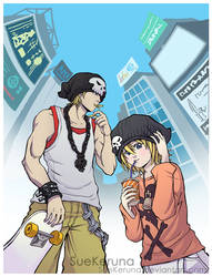 The world ends with fast food by SueKeruna