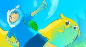 Adventure Time by SueKeruna