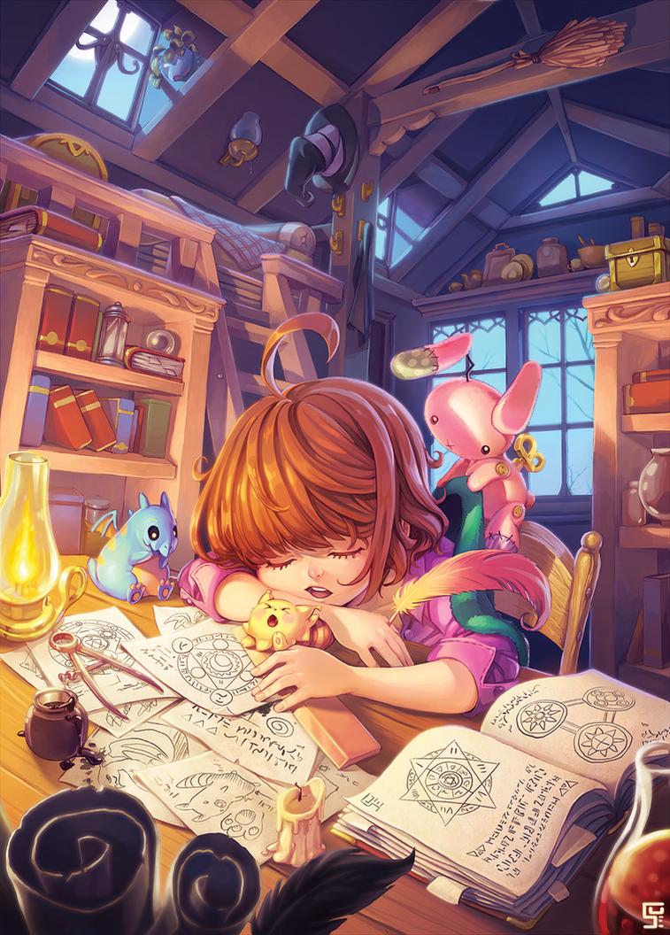 Little Witch by SueKeruna