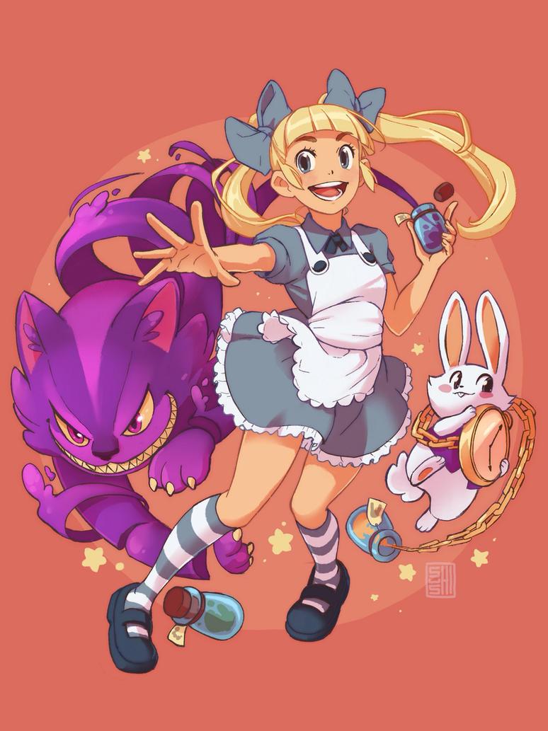 Alice in Monsterland by SueKeruna