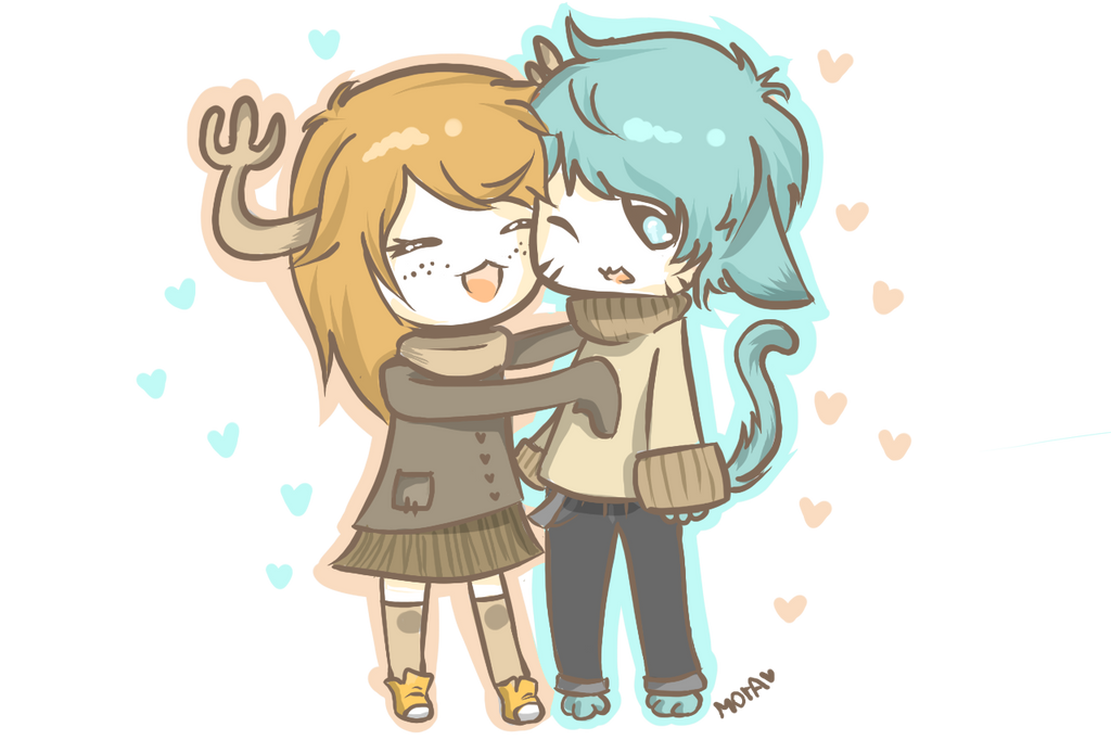 gumball and penny by morawaffle on deviantart