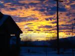 Sunset , Highland city