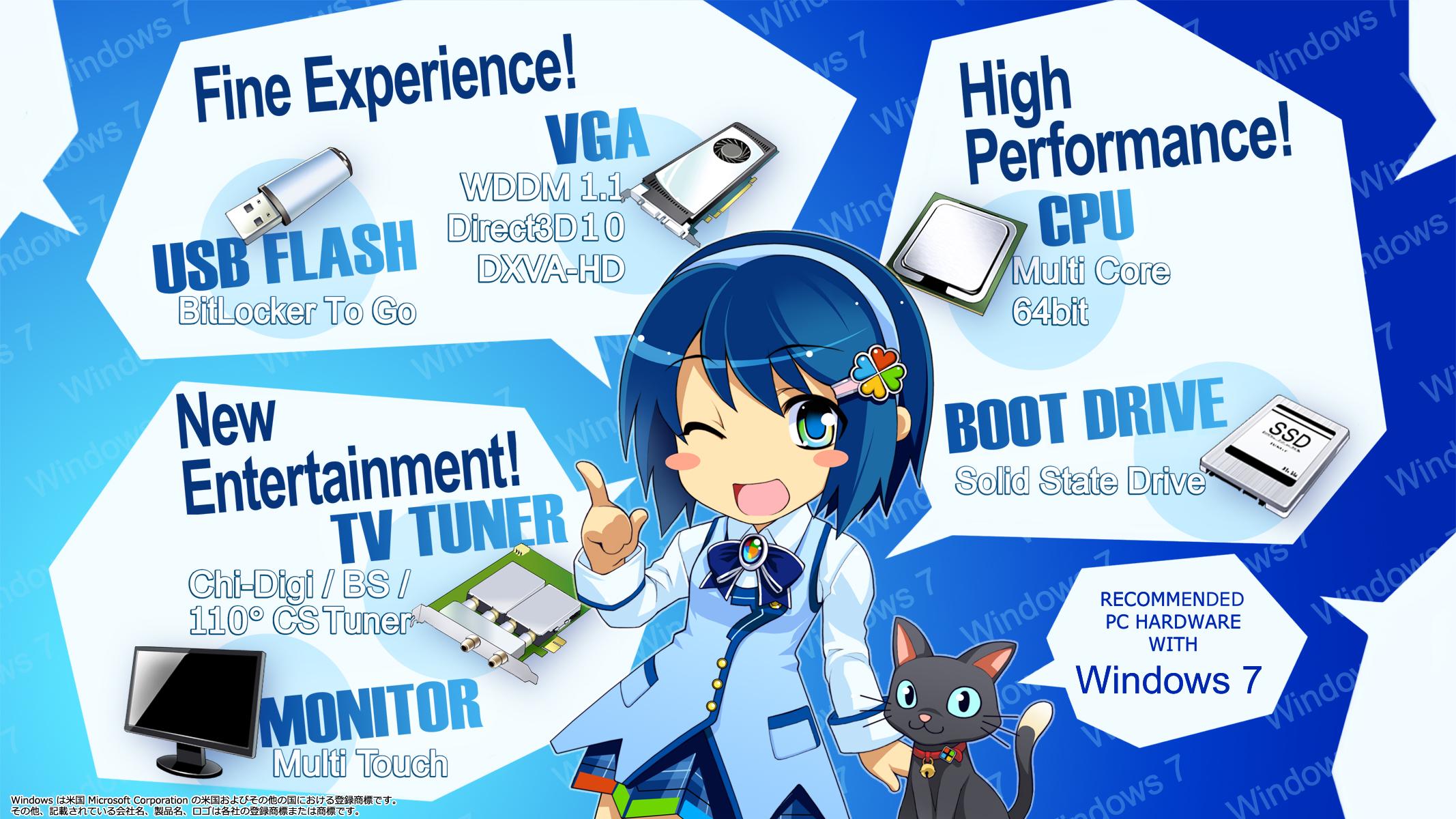 Windows 7 Nanami theme