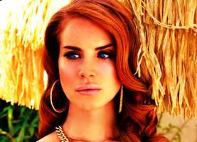 Lana del Rey (Photoshopped) by KimmiPandaa