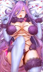 Kuro sexy halloween fox - dirtykuro's contest by ReebeeTk