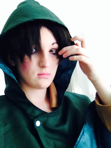 Heichou Levi make up test {Cosplay} by LethalWeapon07