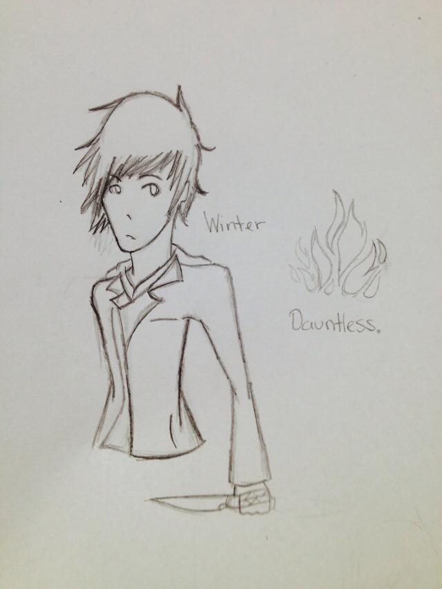 Divergent OC: Winter by LethalWeapon07