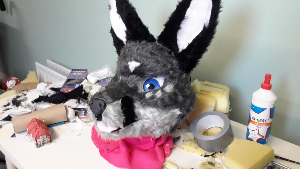 Craft Foam Fursuit Head