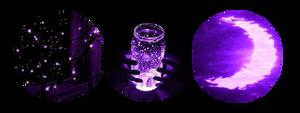 Purple Night - f2u divider by astrophilliax