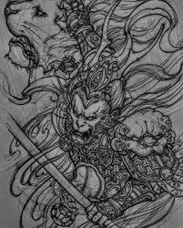 Sun Wukong by Stigma31