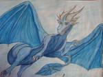 Saphira the saphire dragon