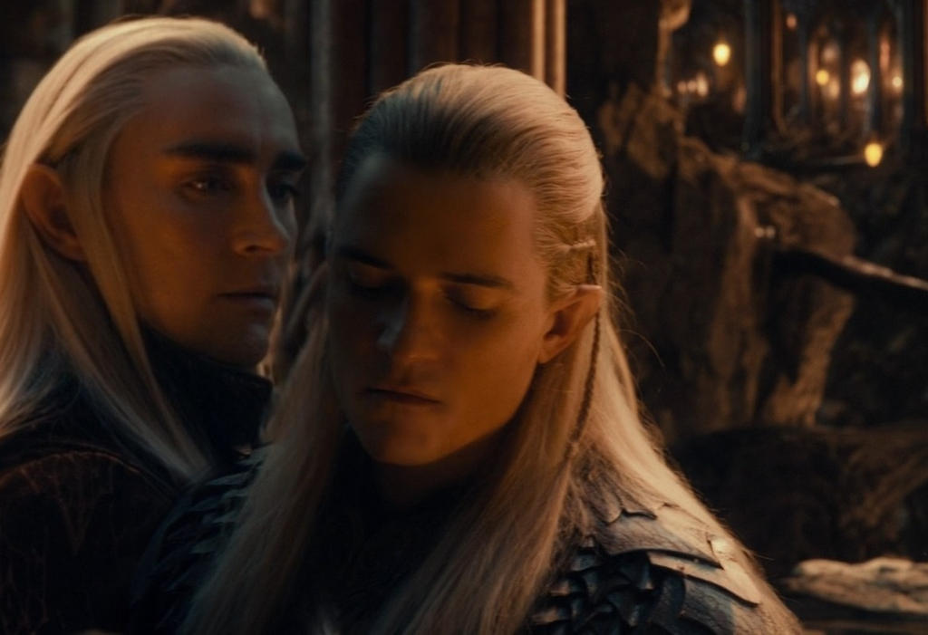 the gallery for gt legolas and thranduil slash