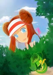 Peek-a-Boo by doremin