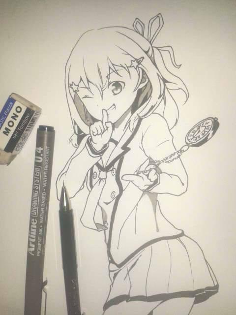 Inou Battle wa Nichijou-kei no Naka de | INKTOBER by doremin