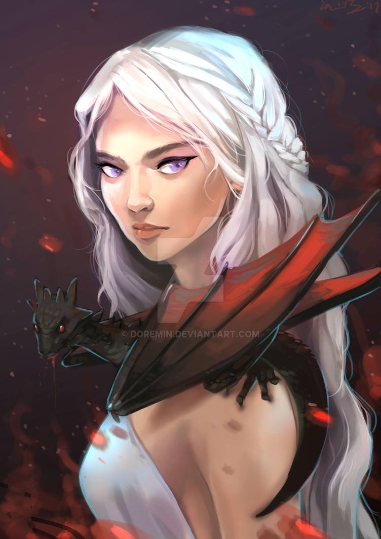 Mother of Dragons by doremin