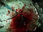Blood wet metal