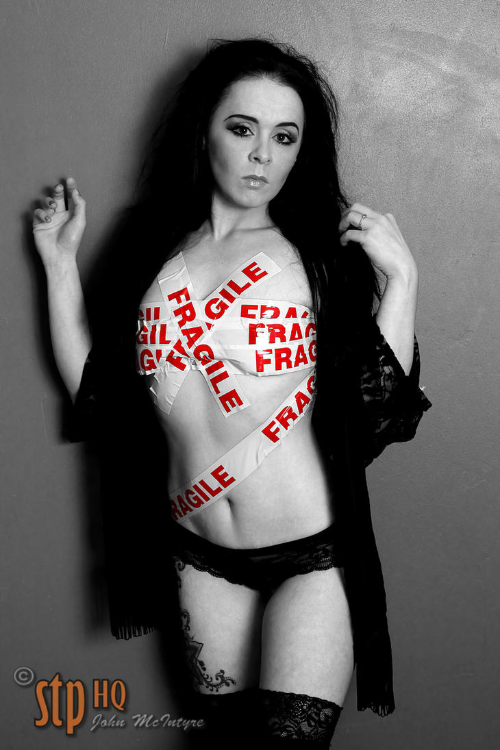 Laura W Fragile Tape Shoot 01 by stphq