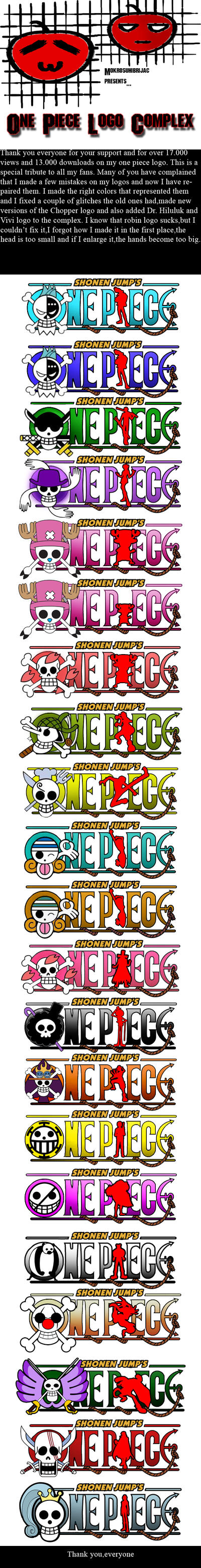 One Piece logo Complex by Mokrosuhibrijac