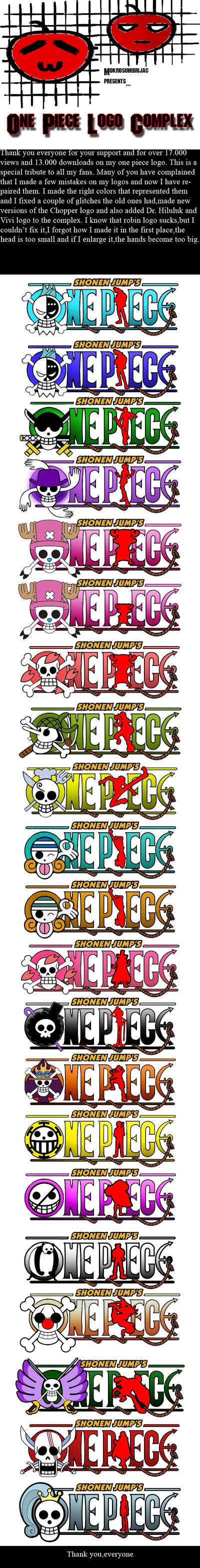 One Piece logo Complex by Mokrosuhibrijac