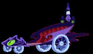 Princess Luna Royal Chariot by Mokrosuhibrijac