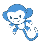 Monkey Plushie vector