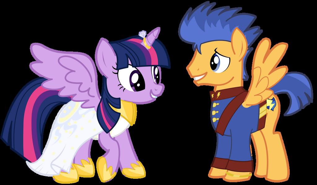 My little pony princess twilight sparkle and flash sentry kiss - photo#43