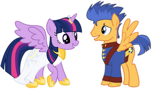 Pony Wedding Commission: Twilight x Flash