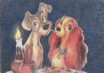 Lady and the Tramp by VexaTheKeybearer