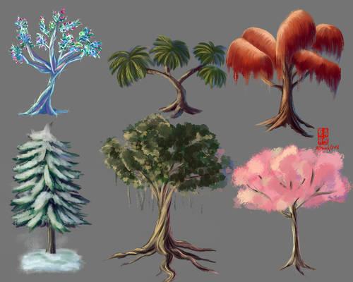 3/March/2016 Practice Tree  Environment Folio