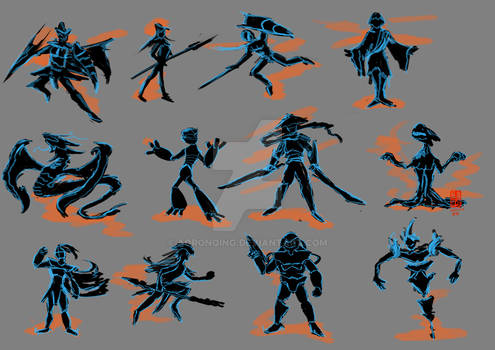 Character Development Thumbnail Practice