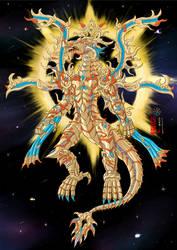 [OC] Sacred Light Golden Dragon