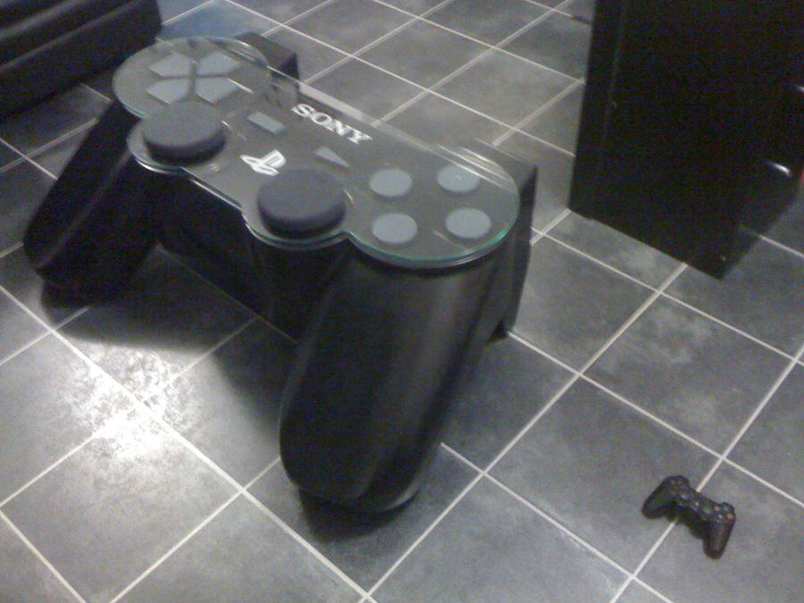 Ps3 Pad Coffee Table By Hayden82 On Deviantart