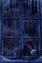 a cold freezing night by Danfango700