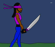 Myles' Sword Practice (Gift)