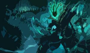 League of Legends Thresh HD Wallpaper CUTOUT